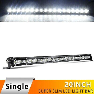 Slim 22inch 520W CREE Led work Light Bar Spot Flood Offroad SUV TRUCK PK Quad