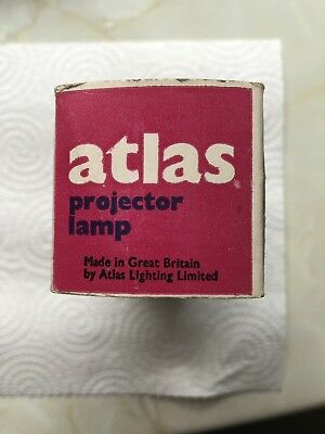 115V ATLAS  A1/206 240v  750W PROJECTOR LAMP G17Q PROJECTION BULB UNUSED NOS