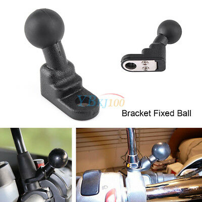 Motorcycle Mirror Base Bracket Fixed Ball Holder Isolate & Dampens Shock Tool CO