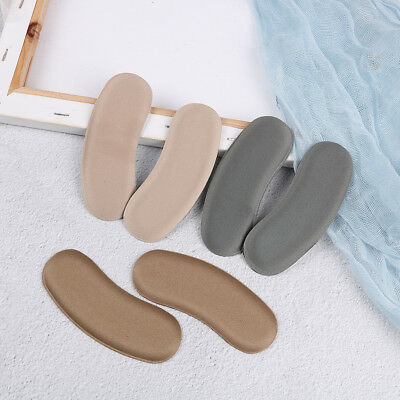 3Pairs sticky fabric shoe back heel inserts insoles pads cushion liner grips MC