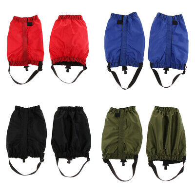 Waterproof Hiking Walking Climbing Hunting Snow Legging Low Ankle Gaiters