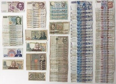 133 x Banknote Collection - ITALY ***BULK LOT***  (2289)
