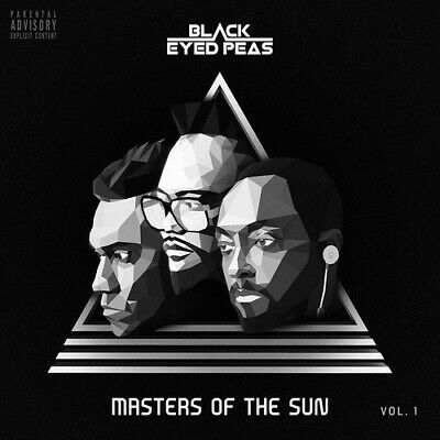 Black Eyed Peas : Masters of the Sun - Volume 1 CD (2018) ***NEW***