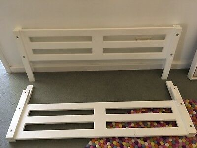 Treehouse Wooden Safety Bed Rails X2