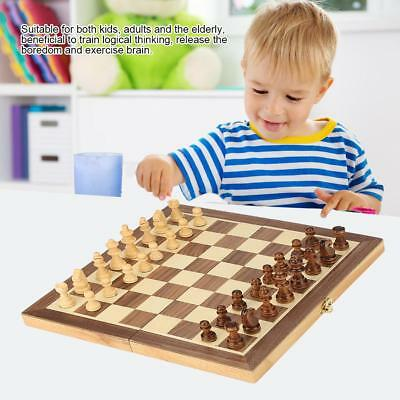 Portable Folding wooden chess High Quality Chess Set Standard Chess Creative Toy