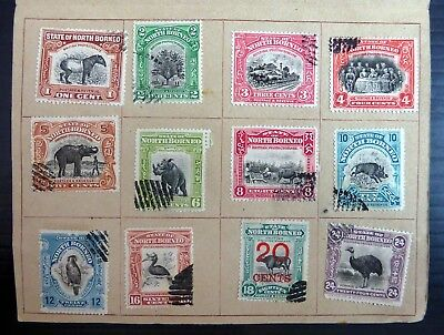 NORTH BORNEO 1927 Cigar Syndicate London Land of the Dyaks SEE BELOW BG360