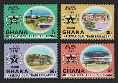 Ghana International Trade Fair Accra 4v MNH SG#764-767