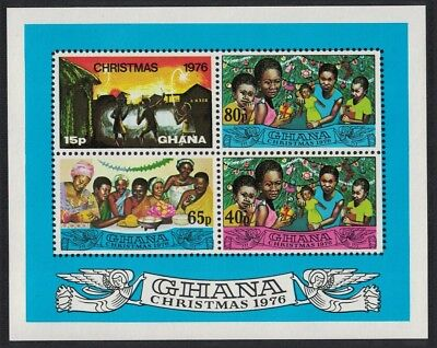Ghana Christmas MS issue 1976 MNH SG#MS790