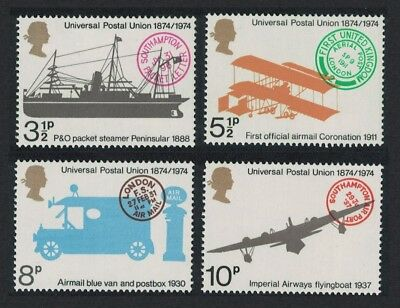 Great Britain Centenary of Universal Postal Union 4v MNH SG#954-957