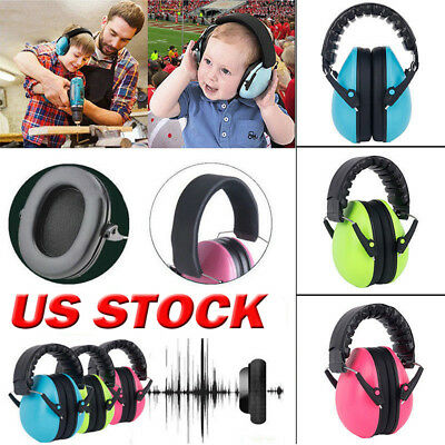 Kids Baby Ear Muff Sound Insulation Noise Reduction Defender Protective Ear Muff