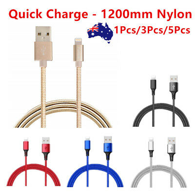 Certified Lightning Cable Charger for Apple iPhone XS Max XR 8 7 6 Nylon Cord