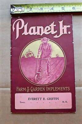 1911 Planter Jr Agriculture Tool Catalog Cultivators Seeders Horse Drawn Hoes ++