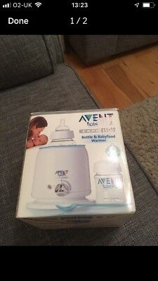 Avent Bottle And Baby Food Warmer
