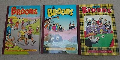 Broons Annuals Three Lot - 1979, 1987 and 1989 - Very Good