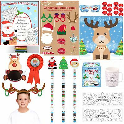 Christmas Games Party Activities Kids Xmas Stocking Fillers Gift Fun Office