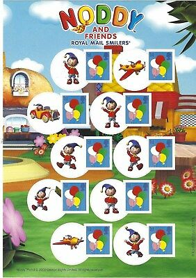 Great Britain 2008 Noddy Smilers Sheet Unmounted Mint, Mnh