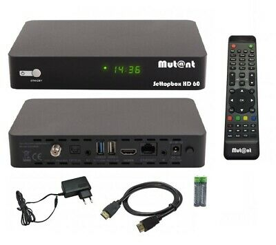 Mut@nt Digital HD 60 4K UHD E2 Linux + Android DVB-S2X Sat Receiver