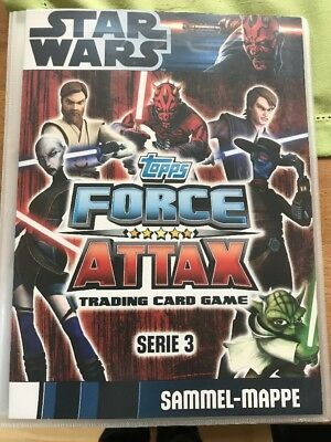 Topps FORCE ATTAX Traiding Card Game, STAR WARS!!!
