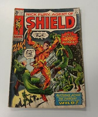 Nick Fury, Agent of Shield Comic - Issue #17 - Marvel - GD