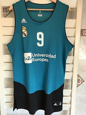 Adidas Real Madrid Basketball Jersey Reyes
