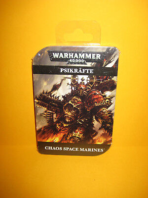 Warhammer 40k - Chaos Space Marines - Psikräfte