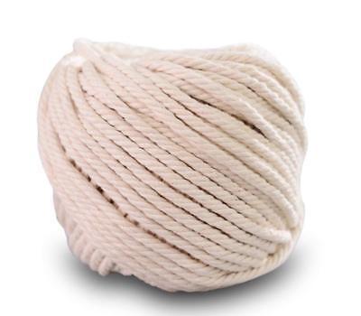 (4mm x 100m) Handmade Decorations Natural Cotton DIY Wall Hanging Craft Rope