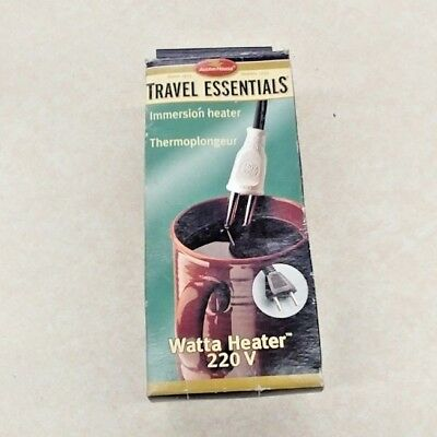 Travel Essentials - Immersion Heater - Wawtta Heater 220 V