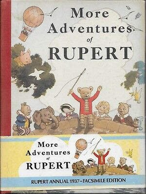 More Adventures Of Rupert - Numbered Collectors Facsimile Edition