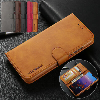 For Huawei Mate 20 Pro/Lite P20 P10 Flip Leather Wallet Case Luxury Stand Cover
