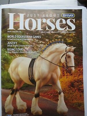 Breyer JAH 2018 Annual Collectors Club Magazine , never opened