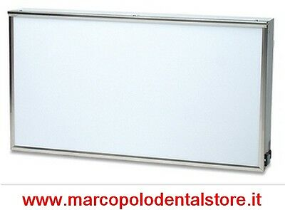 negativoscopio dentale Moretti made in italy 80 x 43 dental medical film viewer
