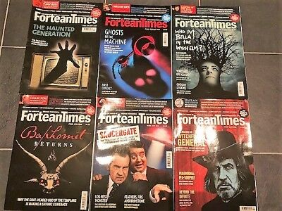 Fortean Times - June 2017, Feb 18, March 2018, April 2018, May 18, June 18