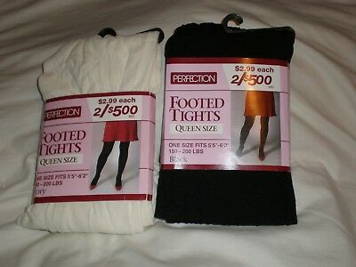 Perfection Footed Tights Queen Size
