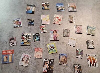 Lot of 15 Dollhouse Miniature Magazines