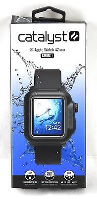 Catalyst - Case for Apple Watch 42mm Series 1 - Black - 3783sw