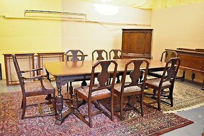 Black Friday Antique Vintage Lammert Furniture Dining Room Set St Louis