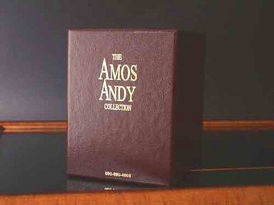Amos and Andy DVD Box Set w/ Book  81 Shows w/ 74 episodes ! 2 missing+Auditions