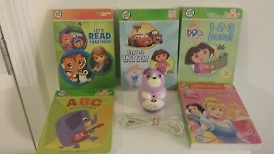 Leapfrog Tag Junior Jr Reading System Lot 5 Books  (USED)