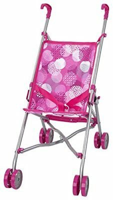 Bayer Design 30141AA - Puppen-Buggy, Rosa mit Muster