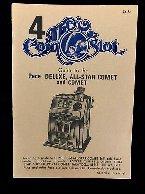 Pace Coin Slot Guide #4 for the Comet, Royal Comet, and other models NOS
