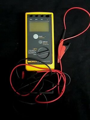 Fluke 1621 Earth / Ground Tester with Gator Leads SHIPS FAST