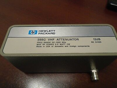Agilent HP 355C VHF Attenuator with late serial number (Works!)