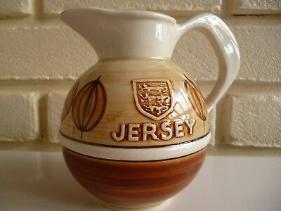 Jersey Pottery Jug For Milk/Cream Vintage c1960's