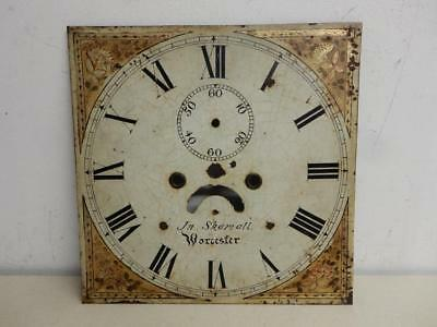 REALLY OLD CLOCK FACE antique  JN Skamall WORCESTER
