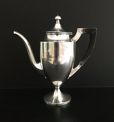 Exceptional Antique Sterling Silver Teapot, Webster Company, c. 1920s.