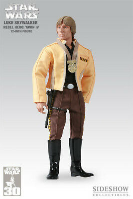 New Luke Skywalker 1:6 Scale Sideshow Exclusive Collectibles Rebel Hero Yavin Iv