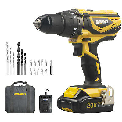 810W Hammer Impact Drill Auxiliary Handle 13mm 3pc Bits Set