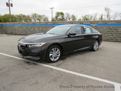 2018 Honda Accord Sedan LX 1.5T CVT LX 1.5T CVT New 4 dr Sedan CVT Gasoline 1.5L 4 Cyl Kona Coffee Metallic