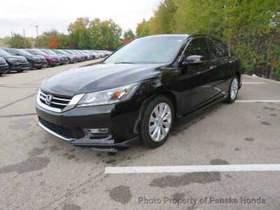2013 Honda Accord Sedan 4dr V6 Automatic EX-L PZEV 4dr V6 Automatic EX-L PZEV Sedan Automatic Gasoline 3.5L V6 Cyl BLACK