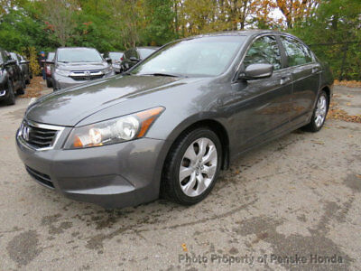 2010 Honda Accord Sedan 4dr I4 Automatic EX-L 4dr I4 Automatic EX-L Sedan Automatic Gasoline 2.4L 4 Cyl GRAY